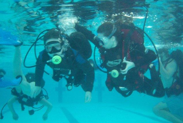 videa pro potápění